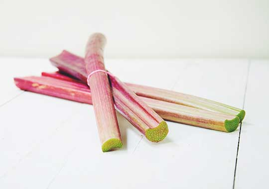 Rhubarb (1 bunch)