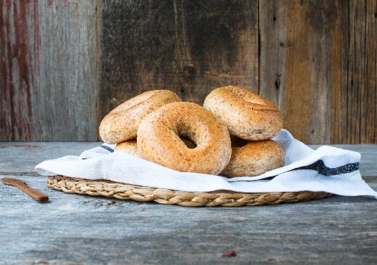 Whole Wheat Bagels